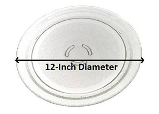 Whirlpool Microwave Glass Turntable Plate GT286WH, GT286 SERIES, VT266SL,VT266WH, VT256, 305MM
