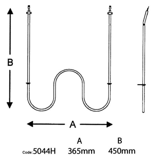 Fisher Paykel Main Oven Element 2250w shacklock fridgidire oven bake element,