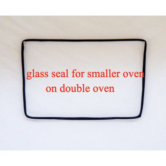 westinghouse simpson oven Main oven inner glass seal smaller oven 3W701 La Stella,
