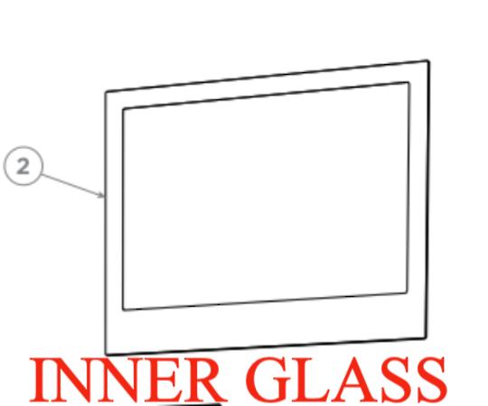 Fisher Paykel Oven Inner Door Glass OB60SC5cex1, *300P