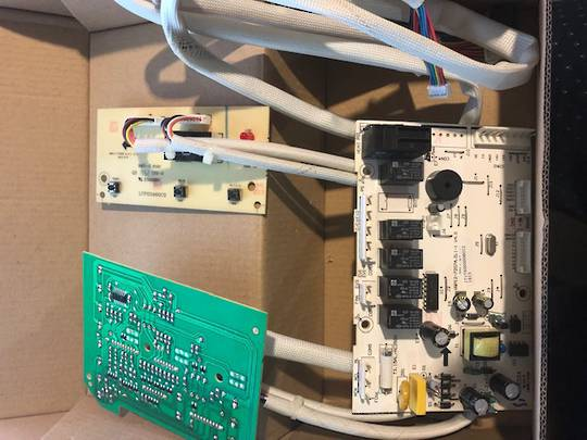 BAUMATIC DISHWASHER POWER CONTROLLER PCB MAIN PLUS DISPLAY PCB BDW453SS,