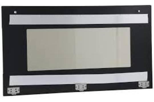 SMEG OVEN OUTER DOOR GLASS FOR sa9066as Black,
