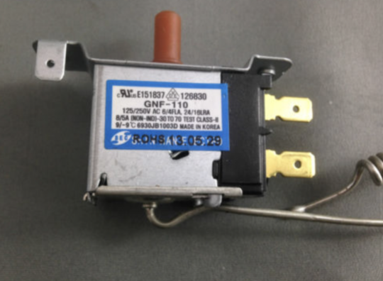 LG, WESTINGHOUSE NO FROST FRIDGE THERMOSTAT RJ390M, LG GR-432SF, GR423SF,