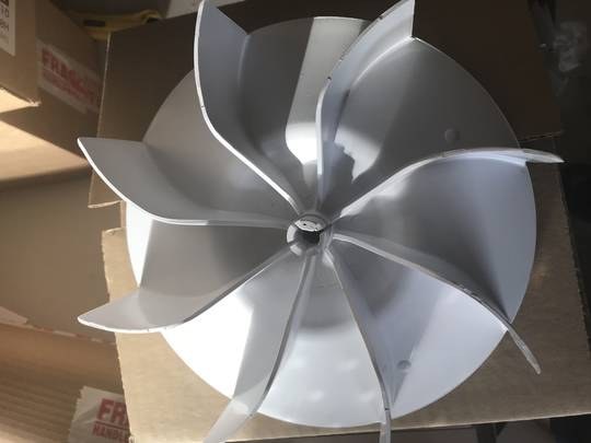 Whirlpool Cloth Dryer FAN BLADE  AWD60A, SDRY60, SDRY60CE,