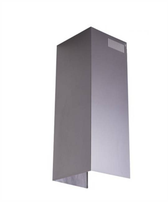 Fisher Paykel Rangehood Ventilation Kit Chimney H1000mm x W265mm x D265mm. HC90MXB1,