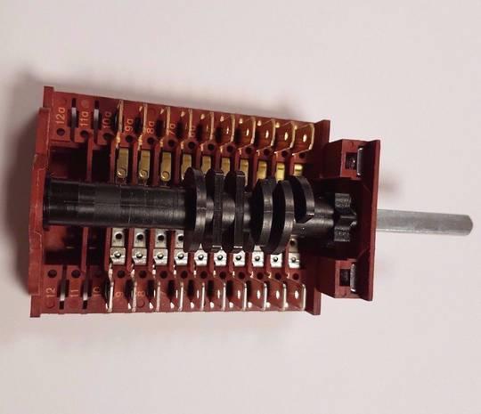 Smeg Oven Multifunction Selector Switch 5074/4, BM93IBL, BM93IP, C113GMX9, C92DX8, CC92MX8, CC92MX9, CG92N8, CG92N9, CG92RW9, CG