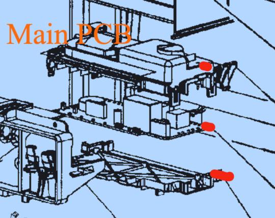 SMEG DISHWASHER POWER CONTROLLER BOARD PCB TIMER DWAU149XN, DWAU149XO, *1599