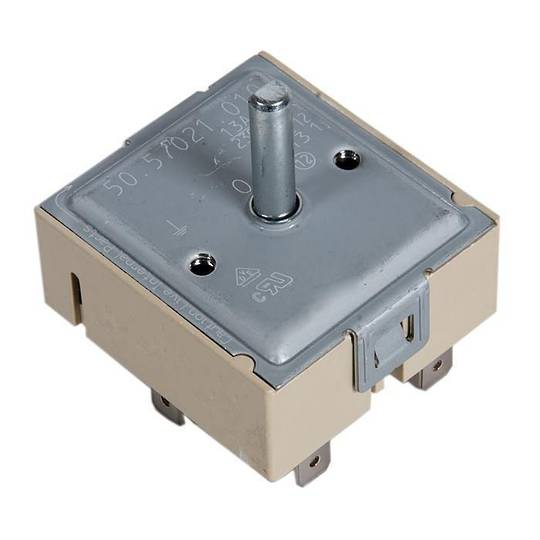 Westinghouse Regulator switch for cooktop and Oven Single Element  SIMMERSTAT PHP285W, PHP284U