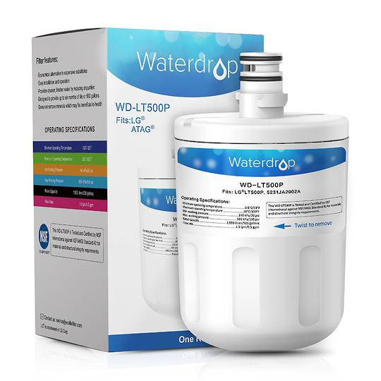 Lg Fridge water filter internal lt500p,