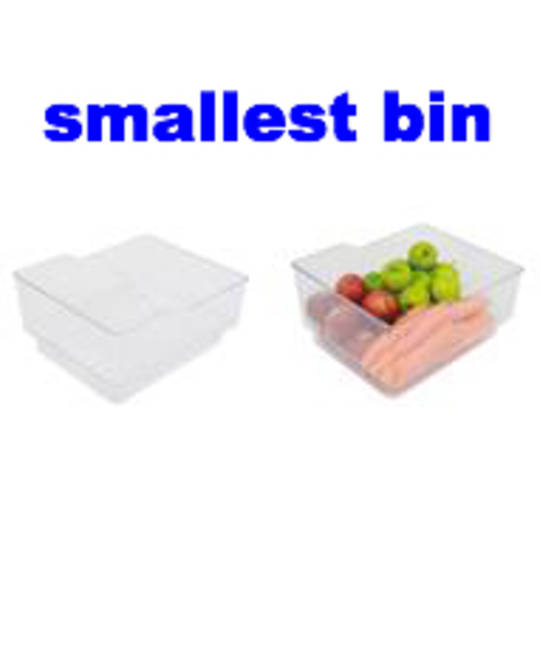 Fisher Paykel fridge smallest Veggie bin or Freezer Bin E522B, E522BRXFDU, E522BRM, E522BR, E522B,