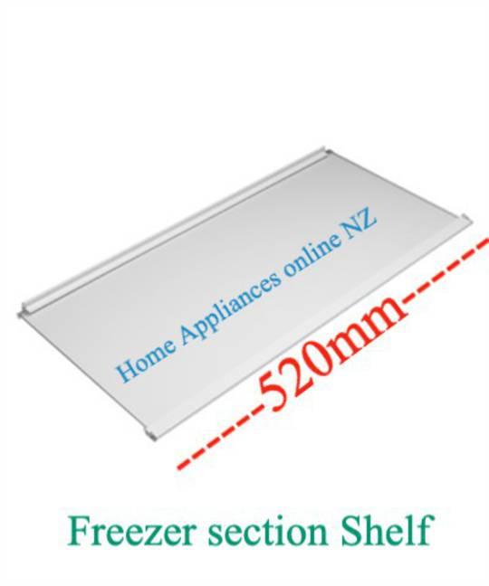 Elba Fisher Paykel Freezer Glass shelf E450, E331T, E372B, E381T, E402B, E411T, C450, N395B, N369B, N325T, N405T, 362
