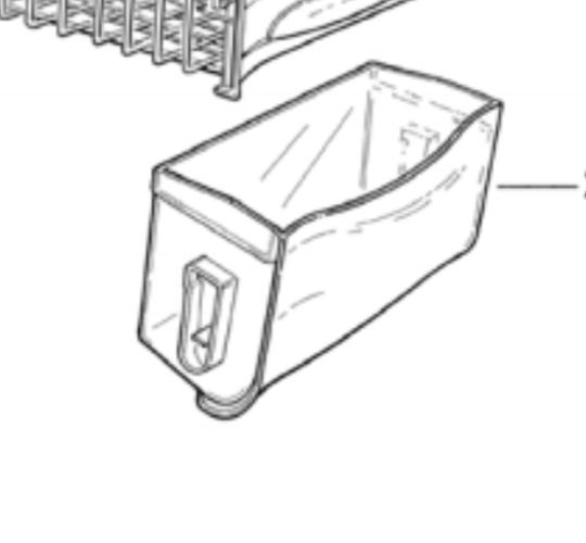 Fisher Paykel Chest Freezer Lower plastinc Bin  N210, N150,