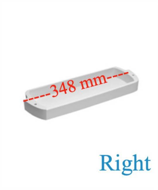 Fisher Paykel fridge door shelf bottle Half shelf RIGHT E522B, E521T, N510T, N500B, C520B, C511B. *2146