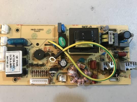 Baumatic RANGEHOOD PCB MAIN BK6EDGLSS, BKC90SS,