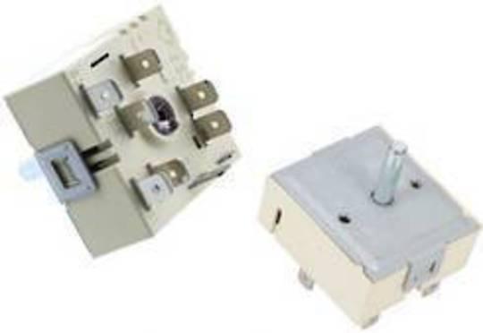 Beko Cooktop switch regulator single element ,HE55600,