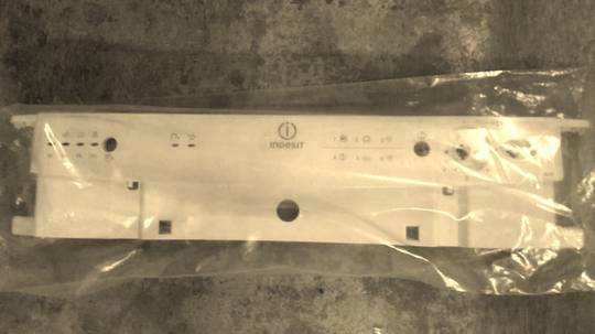 Indesit Dishwasher Control Panel frame  Panel Facia IDL60S(EU)2,