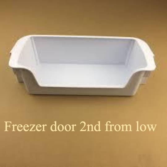 samsung FREEZER DOOR 2nd FROM LOW  srs585HDIS , SRS600NLS, SRS858HDIS, SRS580DHLS,