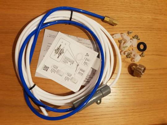 Samsung Fridge Water pipe instal filter kit hose, all brands will fitted