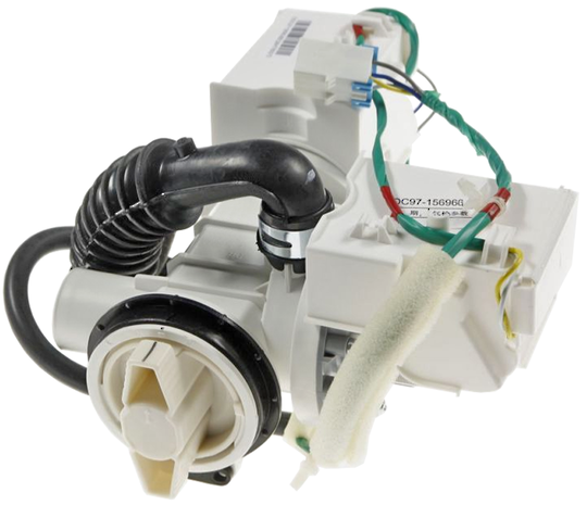 SAMSUNG WASHING MACHINE DRAIN PUMP DRAIN MOTOR WD0754W8E/XSA, WD75J5410AW/SA, WD75K5410OW/NZ, WD75M4453JW/SA, WD856UHSAWQ/SA, WD