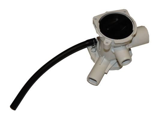 SAMSUNG WASHING MACHINE DRAIN PUMP DRAIN MOTOR FILTER CASE WD-J1255CI/XSA, WD-J1255CI/YMI, WD7704C8C/XSA