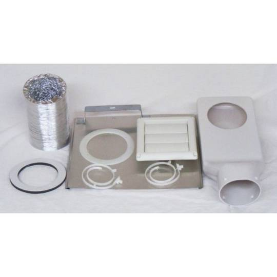 FP ELECTROLUX  SIMPSON WESTINGHOUSE AND MOST BRAND DRYER VENTILATION KIT THROUGH WALL DK4W KIT,