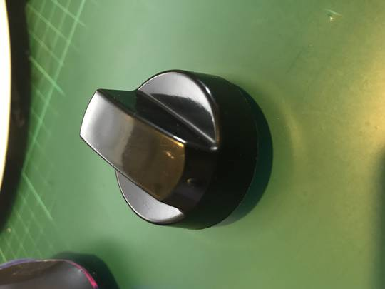 Oven and Cooktop knob Black Universal Gas or Electric 1001 ,