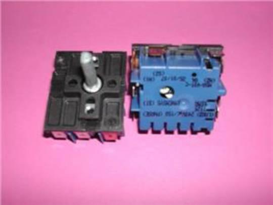 Smeg Cooktop Oven Regulator SwitchDO10PSS, DO10PSS-5, DO41SS, DO4BL, DO4BL-5, DO4SS, DO4SS-5, DO4WH, DO81CBL-5, DO81CSS-5, DO81C