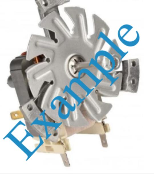 Eurotech EUR-FSC60 oven cooking Fan Motor ,