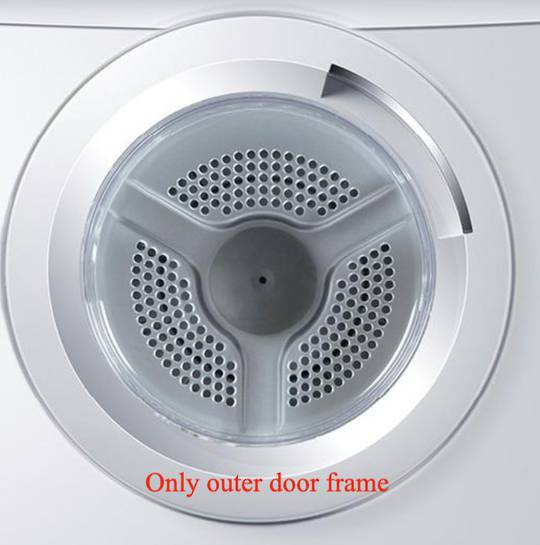 Haier Cloth Dryer door outer frame HDV40A1 HDV60E1, HDV50E1, HDV60A1, HDV70E1,