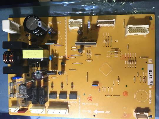 Mitsubishi fridge pcb Controller board model, MR-C405C-ST-A, MRC450CSTA, c405cl, MR-C405CL, MR-C405C,