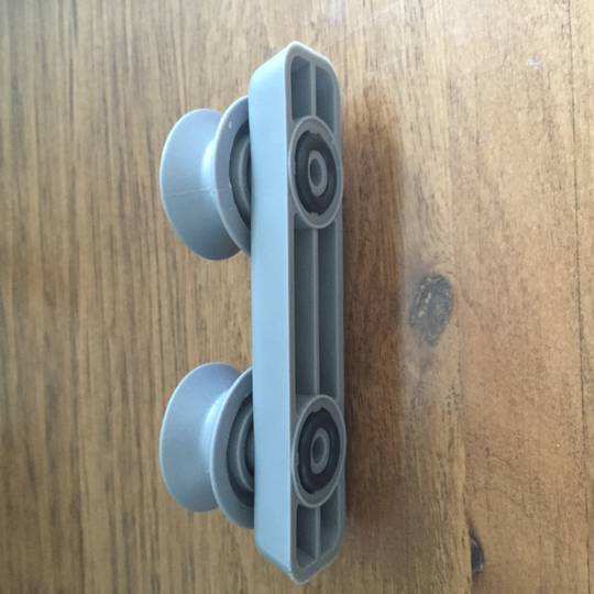 Trieste Tuscany Upper Basket Wheels Side wall rollers  TRD-WQP12-924OF, trdwqp129240p, WQP12-9235B,