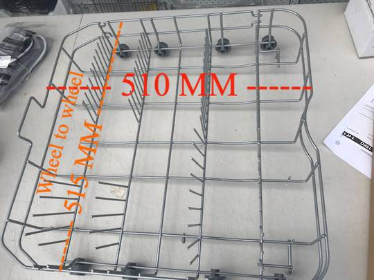 Fisher Paykel Elba Haier Dishwasher lower basket DW60Crx3, dw60crw3, hdw100sst, hdw101sst,