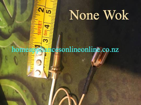 Parmco AR600, AR900 series Thermocouple for NONE WOK burner,