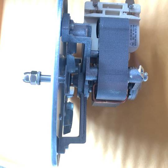 Tisira Oven cooking Fan Motor complete with blade TOC909,