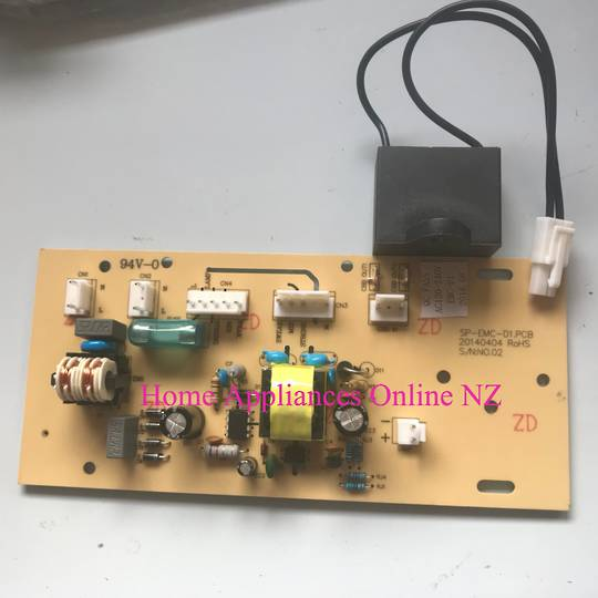 CLASSIQUE RANGEHOOD PCB BOARD + CAPACITOR CLRH60LW, CLRH60Ls, CLRH60LSS, *CB02