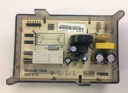 Parmco Oven Clock Timer 6 Botton AR900 Ar900leg, AR600, AR600Leg,  Single Relay  STOVES FS9S-5-2, *5051