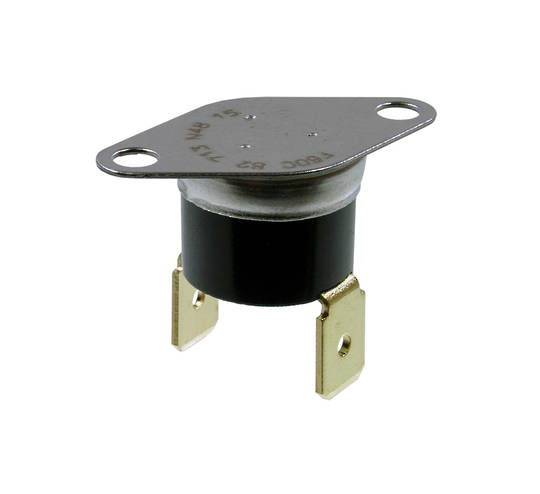 Baumatic  and Classique Oven 45°C -60 degree cut out Safety Thermostat for cooling fan CL604ss,