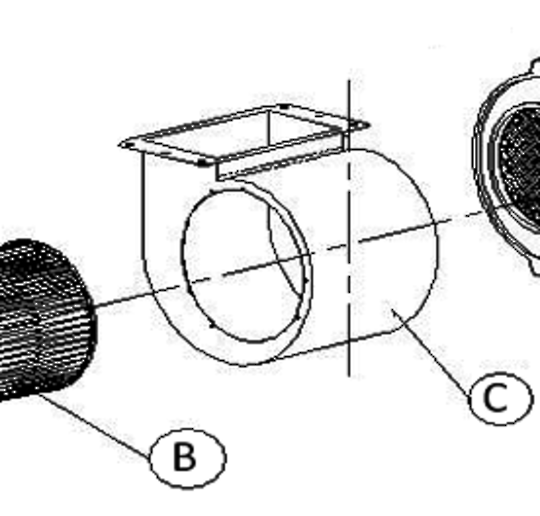 Baumatic Range Hood Rangehood Blower Case Cover f902ss, *SYB012,