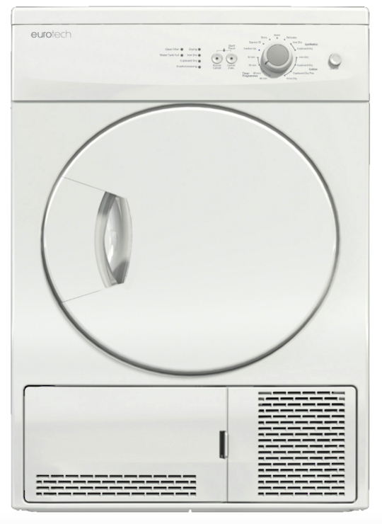ED-CD6KG Eurotech 6kg Freestanding Condenser Dryer