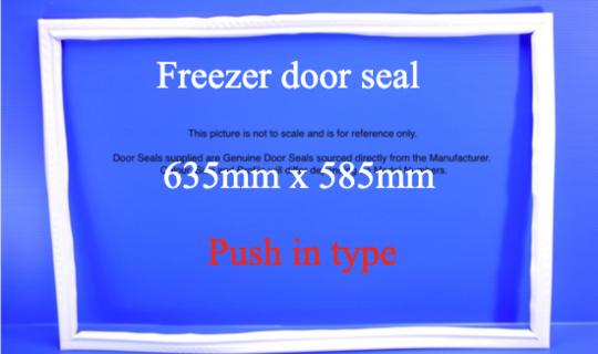 fisher paykel freezer Door seal or gasket models C380B N369B n395b,