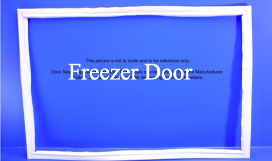 Fisher Paykel Freezer Door Seal Gasket PUSH IN TYPE E521T N500B, N510T, N510TDR, *823P