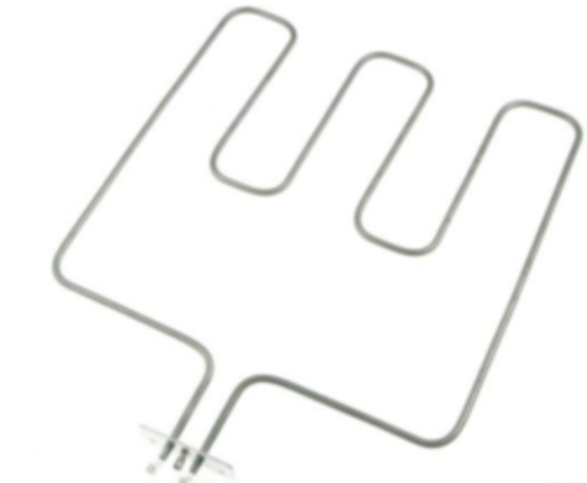 Beko Oven Bake element SCC2631W, SCC2632W, RMS6EMK, ZES6EMA NEW VERSION ,