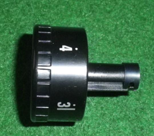 SMEG Dishwasher Black Timer Knob SA45X,