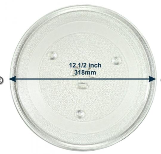 Samsung Microwave glass plate Turntable Plate or Glass C109STFC-5/XSA, C109STFC/XSA, CE1110C/XSA, CE117PAECX/XSA, 20015G,