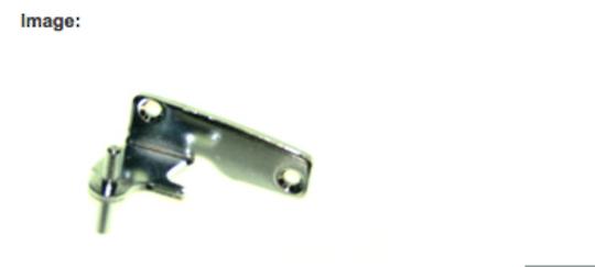 Elba fisher paykel fridge door Middle Hinge Left hinge RF331, E331, E372, RF440, RF521, E413, E440, E442, RF372, R