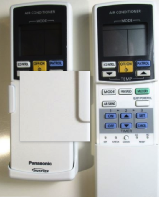 Panasonic Air condition and Heat Pump Remoter Controller CS-E9LKR, CS-E12LKR, no longer available