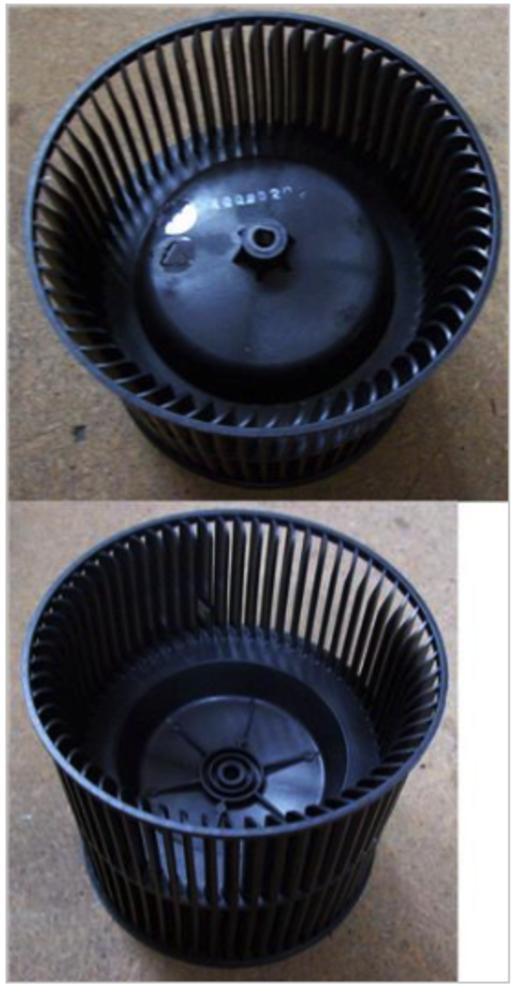 Baumatic rangehood fan blade fan blower BKH61SS, BKH91SS, BKH600ss, BKH900ss,