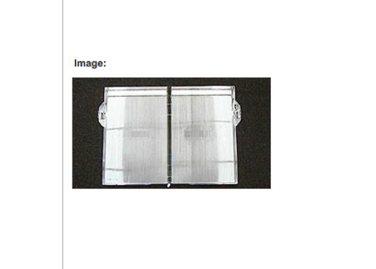 ELBA Fisher Paykel fridge REFRIGERATOR LID HUMIDITY CONTROL E406B, E442B,*** no longer available**