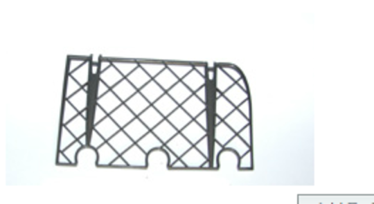 Fisher paykel dishdraw Dish Draw CUP RACK REAR LEFT DS603, DD603, DD605, DS605,