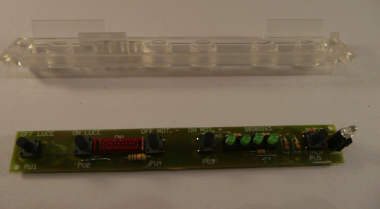 Smeg Ranghood pcb switch board K24SLM60, k24slm90,